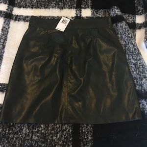 NWT French Connection Hunter Green Skirt - Sz 10